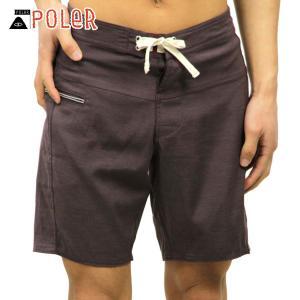 ポーラー ショートパンツ メンズ 正規販売店 POLER ボトムス SLIDER TRUNK 611150-SBW SWEET BE|i-mixon