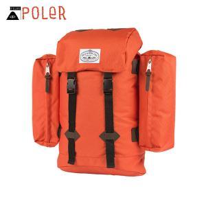 ポーラー POLER 正規販売店 バックパック リュックサック RETRO RUCKSACK 532020-BNT BUR|i-mixon