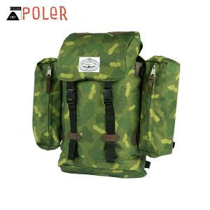 ポーラー POLER 正規販売店 バックパック リュックサック RETRO RUCKSACK 532020-GCO GRE|i-mixon