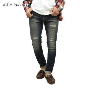 ヌーディージーンズ メンズ Nudie Jeans ジーンズ 正規販売店 Brute Knut Blue Reed 565|i-mixon