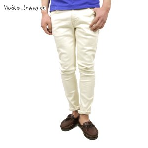 ヌーディージーンズ リーンディーン メンズ Nudie Jeans 正規販売店 Lean Dean Ecru Twill 614 1120630|i-mixon