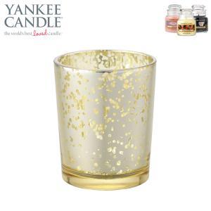 ヤンキーキャンドル YANKEE CANDLE 正規販売店 グラス ヴィンテージ(ビンテージ)グラス ゴールド (J5560000GO)|i-mixon
