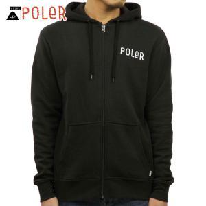 ポーラー パーカー メンズ 正規販売店 POLER PSYCHEDELIC ZIP HOODIE 631184-BLK B|i-mixon