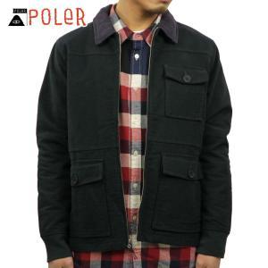 ポーラー アウター メンズ 正規販売店 POLER ジャケット ジャケット MEN'S FLAP JACKET 637182-DKG D|i-mixon