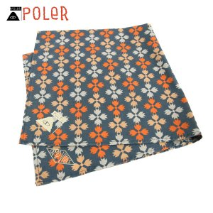 ポーラー POLER 正規販売店 バンダナ スカーフ BANDANAS 636026-BRN BROWN|i-mixon