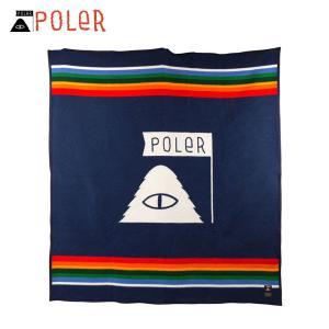ポーラー POLER 正規販売店 毛布 ブランケット POLER×PENDLETON BLANKET CRATER LA i-mixon