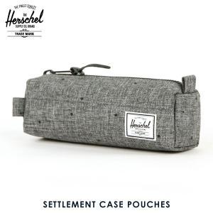 ハーシェル バッグ 正規販売店 Herschel Supply ハーシェルサプライ ポーチ ポシェット SETTLEMENT CASE POUCHES 10071-01160-OS SCATTERED RAVEN CROSSHATCH|i-mixon