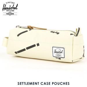 ハーシェル バッグ 正規販売店 Herschel Supply ハーシェルサプライ ポーチ ポシェット SETTLEMENT CASE POUCHES 10071-01145-OS NATURAL CODE|i-mixon