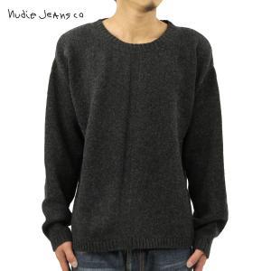 ヌーディージーンズ セーター メンズ 正規販売店 Nudie Jeans Tommy B30 Antracite 1502 i-mixon