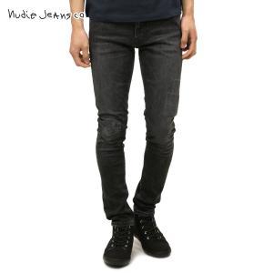 ヌーディージーンズ リーンディーン メンズ Nudie Jeans 正規販売店 Lean Dean 654 Grey Pa|i-mixon