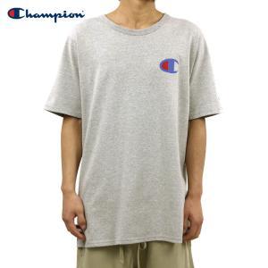 チャンピオン Tシャツ 正規品 CHAMPION 半袖Tシャツ  CREW TEE T1919P Heritage Tee 806-OXFORDGREY #549500 PATRIOTIC C|i-mixon