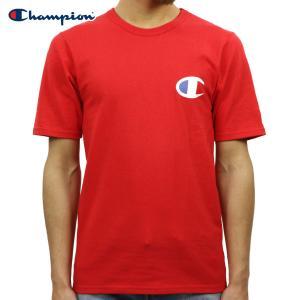チャンピオン Tシャツ 正規品 CHAMPION 半袖Tシャツ  CREW TEE T1919P Heritage Tee W3J-TEAMREDSCARLET #549500 PATRIOTIC C|i-mixon