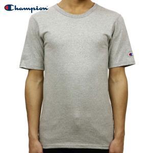チャンピオン Tシャツ 正規品 CHAMPION 半袖Tシャツ  CREW TEE T1919 Heritage Tee 806-OXFORDGREY|i-mixon