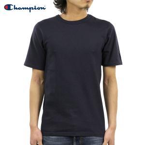 チャンピオン Tシャツ 正規品 CHAMPION 半袖Tシャツ  CREW TEE T1919 Heritage Tee 031-NAVY|i-mixon