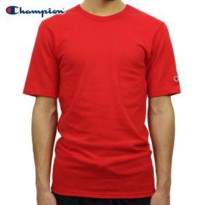 チャンピオン Tシャツ 正規品 CHAMPION 半袖Tシャツ  CREW TEE T1919 Heritage Tee W3J-TEAMREDSCARLET|i-mixon