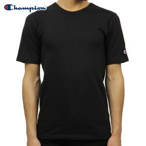 チャンピオン Tシャツ 正規品 CHAMPION 半袖Tシャツ  CREW TEE T1919 Heritage Tee 003-BLACK|i-mixon