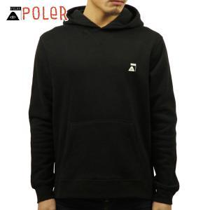ポーラー パーカー メンズ 正規販売店 POLER プルオーバーパーカー  ODDBIRD HOODIE 717145-BLK BLACK|i-mixon
