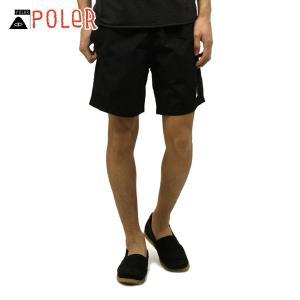 ポーラー POLER 正規販売店 メンズ スイムパンツ SUMMIT VOLLEY SHORT 611151-BLK BLACK|i-mixon