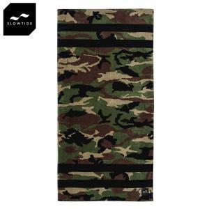 スロウタイド SLOWTIDE 正規品 ビーチタオル REGIME BEACH TOWEL ST072 ARMY i-mixon