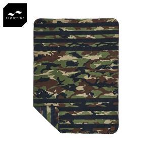 スロウタイド SLOWTIDE 正規品 ブランケット 毛布 REGIME BLANKET ST168 ARMY i-mixon