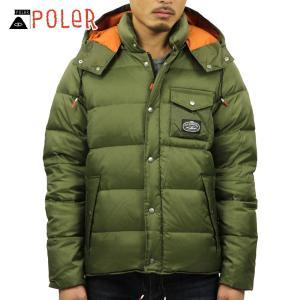 ポーラー POLER 正規販売店 メンズ パファージャケット アウター SAGE PUFFY JACKET 21600014-OLV OLIVE|i-mixon