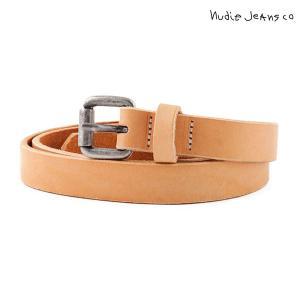 ヌーディージーンズ Nudie Jeans 正規販売店 メンズ ベルト DANSSON SLIM LEATHER BELT NATURAL B12 180562|i-mixon
