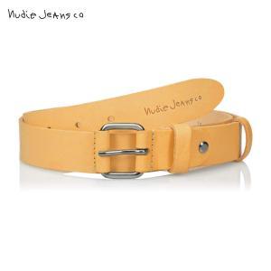 ヌーディージーンズ Nudie Jeans 正規販売店 メンズ ベルト WAYNE LEATHER BELT NATURAL B12 180640|i-mixon