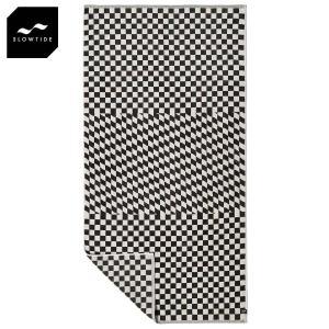 スロウタイド SLOWTIDE 正規販売店 タオル ビーチタオル ROOK WOVEN BEACH TOWEL ST197 BLACK i-mixon