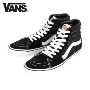 バンズ スニーカー メンズ 正規販売店 VANS スニーカー スケートハイ VANS SK8-HI BLACK/BLACK/WHITE VN000D5IB8C|i-mixon