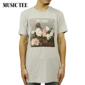 ミュージックティ バンドTシャツ メンズ 正規品 MUSIC TEE フォトT ロックTシャツ 半袖Tシャツ ニューオーダー NEW ORDER PCL NO TITLE MUSIC TEE i-mixon