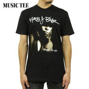 ミュージックティ バンドTシャツ メンズ 正規品 MUSIC TEE ロックTシャツ 半袖Tシャツ メアリー J ブライジ MARY J,BLIGE 411 COVER MUSIC TEE i-mixon