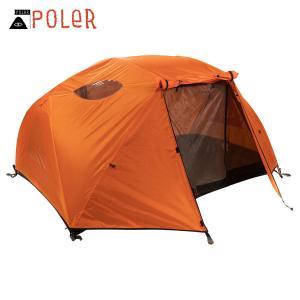 ポーラー テント 正規販売店 POLER アウトドア 二人用テント ドーム型テント 2 MAN TENT CLEMENTINE 212EQU5201-CLM i-mixon