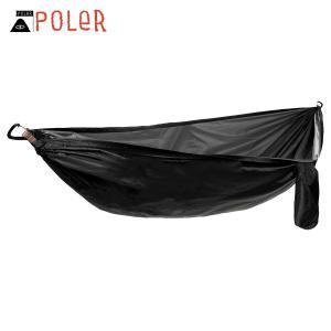ポーラー アウトドア 正規販売店 POLER ハンモック 吊り下げタイプ TREE BED HAMMOCK (ハンモック) BLACK HOLE 213EQU9507-BLH i-mixon