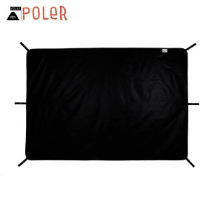 ポーラー アウトドア 正規販売店 POLER シート レジャーシート 2 MAN MAGICAL GROUND TENT SHEET FOOTPRINT BLACK 212EQN0701-BLK i-mixon