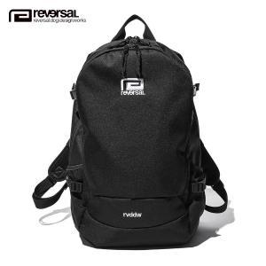 予約商品 11月頃入荷予定 リバーサル バックパック メンズ レディース 正規販売店 REVERSAL リュックサック バック BIG MARK BASIC BACK PACK rv21aw709 BLACK|i-mixon