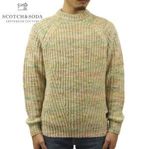予約商品 9月頃入荷予定 スコッチアンドソーダ セーター メンズ 正規販売店 SCOTCH&SODA ニット セーター RIB-KNIT SWEATER 164842 0217 45421 39 i-mixon