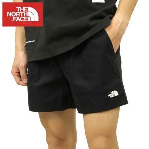 ノースフェイス ショートパンツ メンズ 正規品 THE NORTH FACE ナイロンショートパンツ M CLASS V PULL ON SHORT TNF BLACK NF0A5A5X JK3 i-mixon