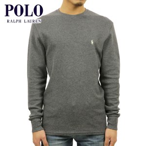 30%OFF アウトレット品 ポロ ラルフローレン メンズ POLO RALPH LAUREN 正規品 長袖Tシャツ L/S Thermal チャコール|i-mixon