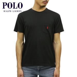 30%OFF アウトレット品 ポロ ラルフローレン Tシャツ 正規品 POLO RALPH LAUREN 半袖Tシャツ Short-Sleeved Pocket Tee ブラ|i-mixon