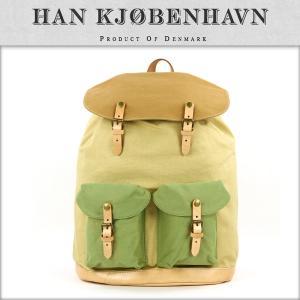 30%OFF アウトレット品 ハン HAN KJOBENHAVN 正規販売店 メンズ バッグ MIX COLOR BAG カーキ|i-mixon