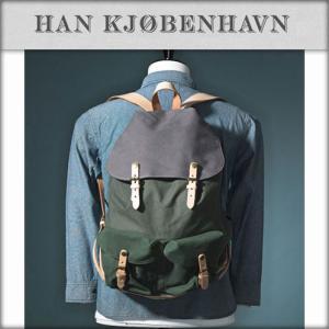 30%OFF アウトレット品 ハン HAN KJOBENHAVN 正規販売店 メンズ バッグ MIX COLOR BAG グリーン|i-mixon