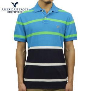30%OFF アウトレット品 アメリカンイーグル AMERICAN EAGLE 正規品 メンズ ポロシャツ 2165-6997 ネイビーブルー|i-mixon
