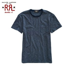 30%OFF アウトレット品 ダブルアールエル RRL 正規品 メンズ 半袖Tシャツ Striped Pocket T-Shirt|i-mixon