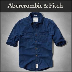 30%OFF アウトレット品 アバクロ Abercrombie&Fitch 正規品 メンズ 長袖シャツ BEAVER MEADOWS SHIRT 125-168-1463-023|i-mixon