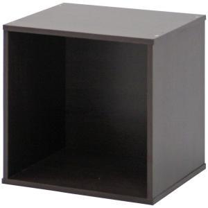 キューブボックス 幅34.5cm ナチュラル 組み合わせ自由 CB35OP(BR) 不二貿易
