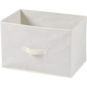 不織布製 インナー ボックス 横型 アイボリー 78439 不二貿易