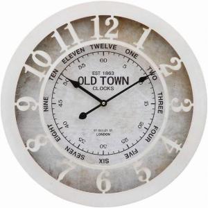 ウォールクロック OLD TOWN 直径50cm 20717【メーカー直送品】
