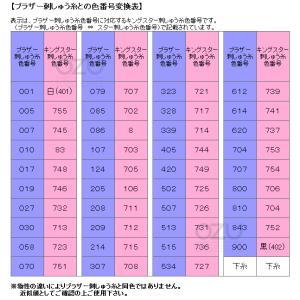 フジックス キングスター ミシン刺しゅう糸(家庭用刺しゅうミシン用) 39色セット|i-ozu|03
