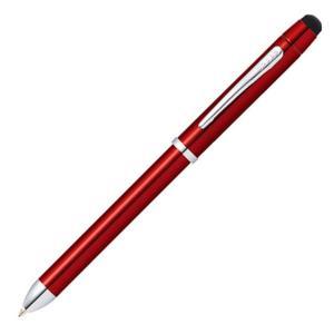 「TECH3:テックスリー」は黒・赤のボールペンと0.5mmのペンシルに加えタッチパネルに対応したス...