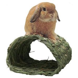 トンネルハウス わらっこ倶楽部 送料無料 うさぎ ハウス モルモット チンチラ チモシー 牧草 川井|i-rabbit